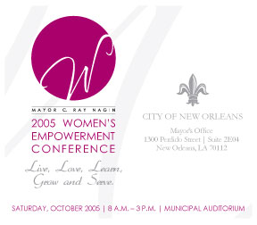 Womens EC save the date card